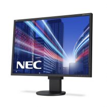"NEC Monitor 24"" - MultiSync PA242W Fekete (IPS; 16:10; 1920x1200; 16ms; 340cd; Dsub, DVI, DP, HDMI, Pivot, AdobeRGB99,3%"